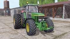 John Deere 7810 dual rear для Farming Simulator 2017