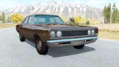 Dodge Coronet sedan (WL-41) 1968 v3.1 для BeamNG Drive