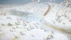 Snow Hills для MudRunner