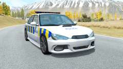 Hirochi Sunburst Greater Manchester Police для BeamNG Drive