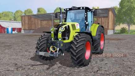CLAAS Arion 650 twin wheеls для Farming Simulator 2015