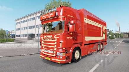 Scania R620 Fleurs для Euro Truck Simulator 2