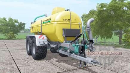 Zunhammer SKE 18.5 PUD для Farming Simulator 2017