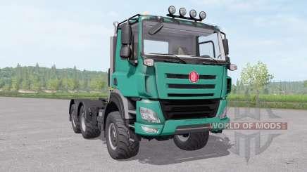 Tatra Phoenix T158-8P6R33 tractor 2014 для Farming Simulator 2017