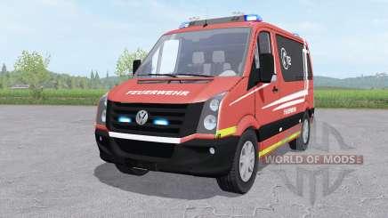 Volkswagen Crafter Van 2011 Feuerwehr v1.0 для Farming Simulator 2017