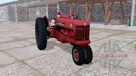 Farmall 300 dark red для Farming Simulator 2017