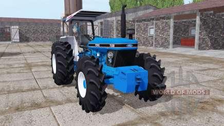 Ford 7830 vivid blue для Farming Simulator 2017