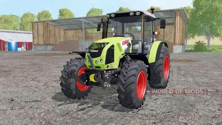 CLAAS Axos 340 loader mounting для Farming Simulator 2015