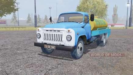 ГАЗ 53 Молоко для Farming Simulator 2013