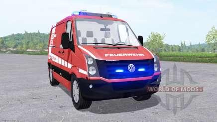 Volkswagen Crafter Van 2011 Feuerwehr v0.9 для Farming Simulator 2017