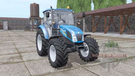 New Holland T4.75 blue для Farming Simulator 2017