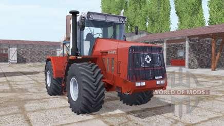 Кировец К-744Р3 умеренно-красный для Farming Simulator 2017