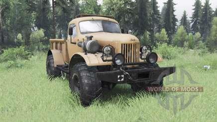 ЗиЛ 157 4x4 Лесоруб для Spin Tires