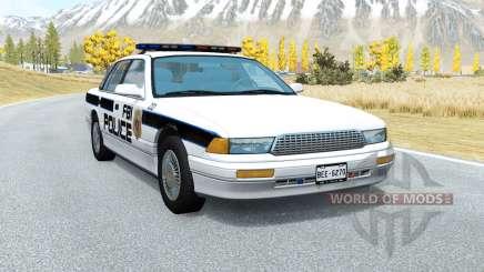 Gavril Grand Marshall FBI Police v1.5 для BeamNG Drive