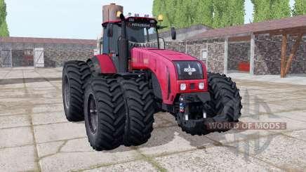 Беларус 3522 выбор колёс для Farming Simulator 2017