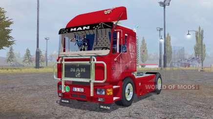 MAN F90 для Farming Simulator 2013