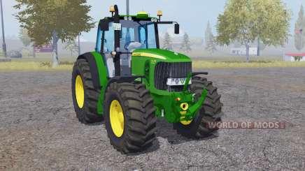 John Deere 7530 Premium 4WD для Farming Simulator 2013