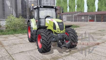 CLAAS Arion 630 interactive control для Farming Simulator 2017
