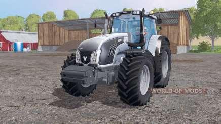 Valtra T163 grayish blue для Farming Simulator 2015