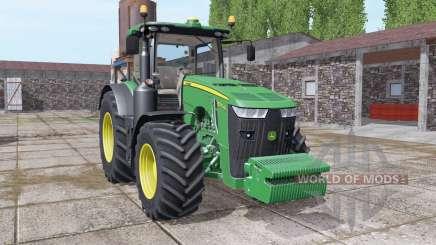 John Deere 8370R front weight для Farming Simulator 2017