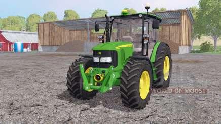 John Deere 5080M loader mounting для Farming Simulator 2015