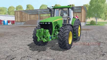 John Deere 8220 wheels weights для Farming Simulator 2015