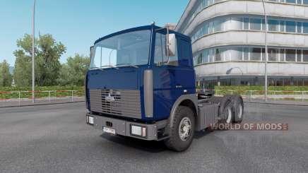 МАЗ 6422 v1.33 для Euro Truck Simulator 2