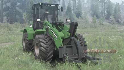 New Holland W170C green для MudRunner