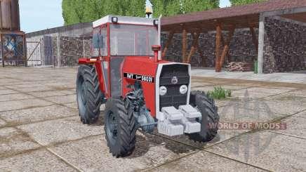IMT 560 DV narrow wheels для Farming Simulator 2017