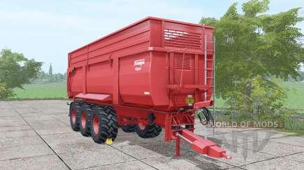 Krampe Big Body 900 more parts для Farming Simulator 2017