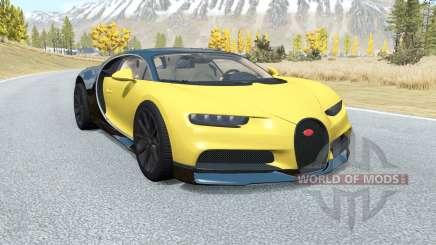 Bugatti Chiron 2016 для BeamNG Drive