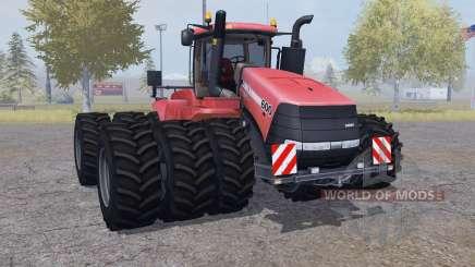 Case IH Steiger 600 triple wheels для Farming Simulator 2013