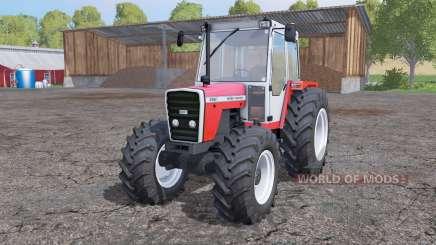 Massey Ferguson 698T interactive control для Farming Simulator 2015