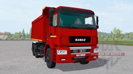 КамАЗ 6520-21010-53 v2.1 для Farming Simulator 2017
