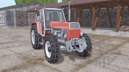 Zetor 12045 Crystal chains on wheels для Farming Simulator 2017