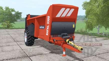Sodimac Rafal 3300 для Farming Simulator 2017