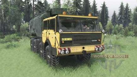 Tatra T813 TP 8x8 1967 v1.2 для Spin Tires