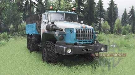 Урал 4320-10 МЧС для Spin Tires