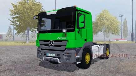 Mercedes-Benz Actros (MP3) green для Farming Simulator 2013