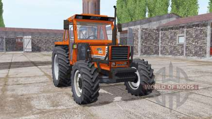 Fiat 1180 DT bright orange для Farming Simulator 2017