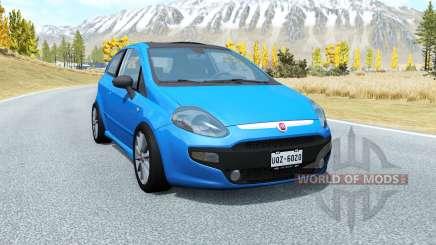 Fiat Punto Evo Sport (199) 2009 для BeamNG Drive