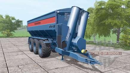 BERGMANN GTW 430 dark blue для Farming Simulator 2017
