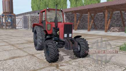МТЗ 82 Беларус мягкo-красный для Farming Simulator 2017