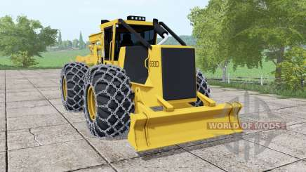 Tigercat 630D v0.9 для Farming Simulator 2017