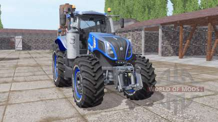 New Holland T8.320 v1.0.2 для Farming Simulator 2017