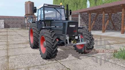 Fendt Farmer 310 Black Beauty для Farming Simulator 2017