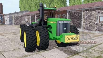 John Deere 9300 для Farming Simulator 2017