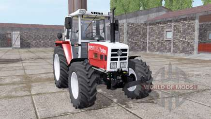 Steyr 8080A Turbo SK2 soft red для Farming Simulator 2017