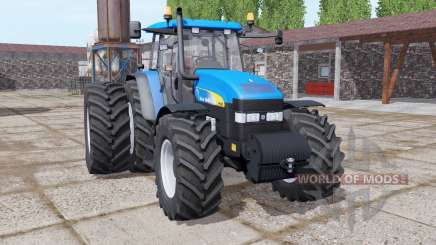 New Holland TM190 dual rear для Farming Simulator 2017