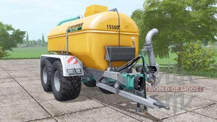 Zunhammer SKE 15.5 PU для Farming Simulator 2017